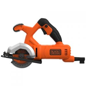 Мини дисковая пила, BLACK+DECKER BES510-QS, 400 Вт, диск 85 мм