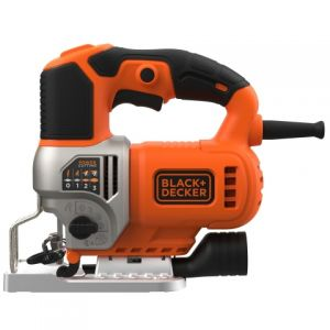 Лобзик BES610-QS BLACK+DECKER, 650 Вт, 90 мм