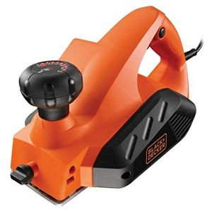 Рубанок BLACK+DECKER KW712, 650 Вт, 0-2 мм, шир. 82 мм