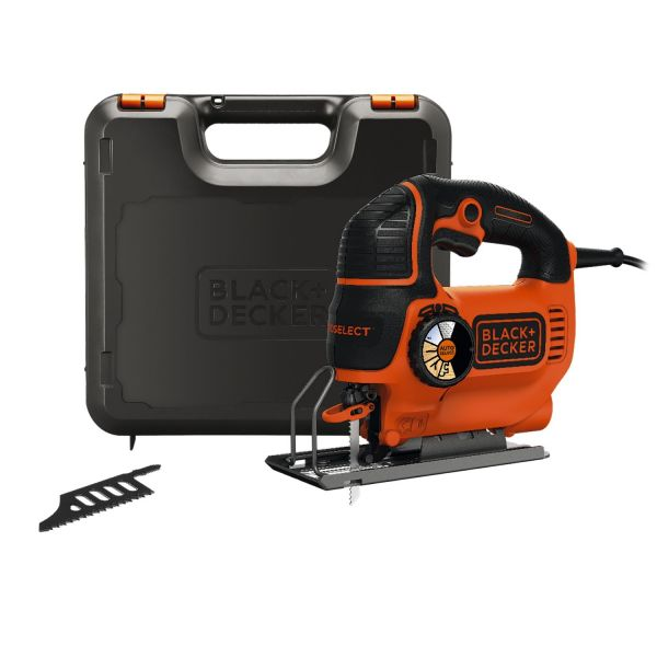 Лобзик SMART SELECT BLACK+DECKER KS901SEK, 620 Вт